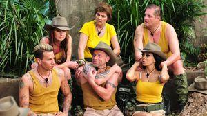 """Team """"Snake Rock"""" bei der ersten Dschungelprüfung 2017"""