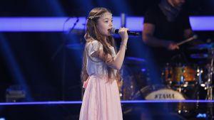 """""""The Voice Kids""""-Kandidatin Marie-Sophie auf der Bühne"""