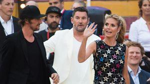 "Thomas Hayo, Michael Michalsky und Heidi Klum beim ""Germany's next Topmodel""-Finale 2016"