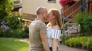 Erster Kuss! Bauer Thomas und Nicole gehen in die Vollen