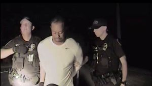 Tiger Woods bei der Festnahme in Florida im Mai 2017