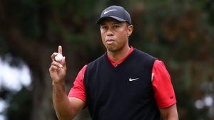 Nach Horror-Unfall: Golf-Star Tiger Woods trainiert wieder