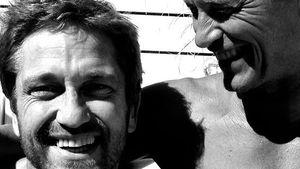 Til Schweiger & Gerard Butler im Kumpel-Urlaub?