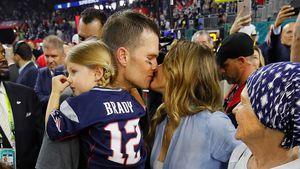Super-Bowl-Sieger Tom Brady: Süße Küsse von Gisele Bündchen!