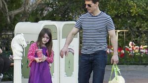 Suri Cruise und Tom Cruise