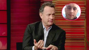 Tom Hanks und Chet Hanks