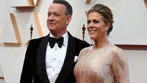 Tom Hanks und seine Frau nach Corona aus Klinik entlassen!