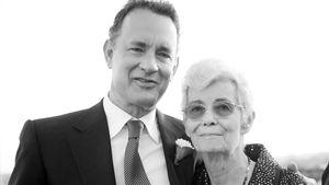Tom Hanks und seine Mutter Janet Marylyn Frager