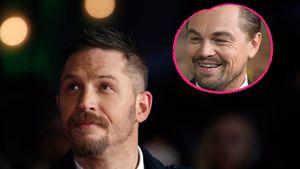 Tom Hardy bei einer Filmpremiere im Januar 2016 in London und Leonardo DiCaprio