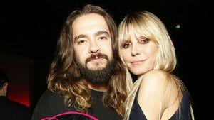 Total innig: Tom Kaulitz gibt Heidi eine Maniküre im Bett