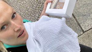 Krasser Kontrast: Toni Garrn liebt ihr neues Mutterleben!