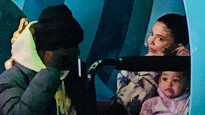 Trotz Trennung: Kylie und Travis mit Stormi im Disneyland