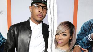Rapper T.I. und Tameka 'Tiny' Harris