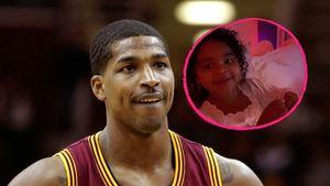 Tristan Thompson im TV: So süß feuert True ihren Papa an