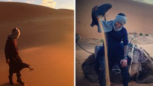 Will Usher etwa ein Einsiedler-Leben in der Wüste?
