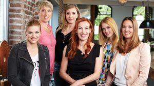 Nina Bott, Christina Obergföll, Anni Friesinger-Postma, Ute Lemper, Wilma Elles & Dana Schweiger