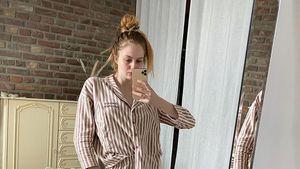 Im Still-Pyjama: Vanessa Tamkan zeigt sich total natürlich