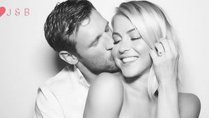 Julianne Hough, Derek Hough und Brooks Laich