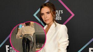 """Heißer Latex-Look: Victoria Beckham trägt ihre """"Sex-Hose"""""""