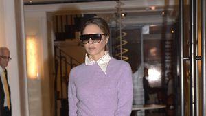 Oben Herbst, unten Sommer: Fashion-Fail bei Vic Beckham?
