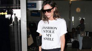Victoria Beckham am Flughafen von Los Angeles