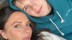 Coole Mom: Victoria Beckham färbt Sohn Cruz die Haare pink!
