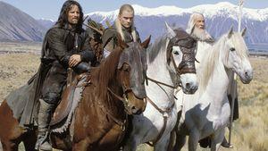 """Viggo Mortensen, Orlando Bloom und Ian McKellen in """"Herr der Ringe"""""""