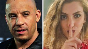Schauspieler Vin Diesel und YouTuberin Carol Moreira
