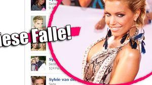 Nackte Sylvie van der Vaart als fiese Viren-Falle