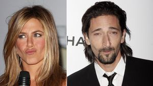 Jennifer Aniston und Adrien Brody