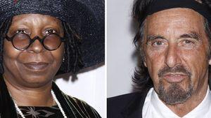 Whoopi und Al Pacino ganz exzentrisch beim Tony