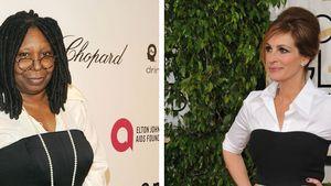 Wem steht's besser: Whoopi oder Julia Roberts?