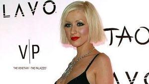Christina Aguilera liebt Lack und Leder