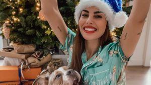 Süße Weihnachtsgrüße: Yeliz Koc postet Fotos mit Hündin Luna