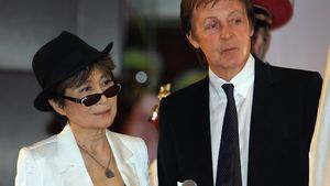 Paul McCartney und Yoko Ono