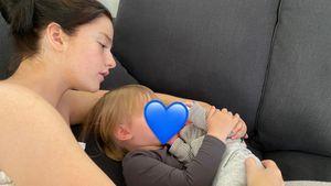 Julita gerührt: So süß sorgt sich Mila um ihr Brüderchen