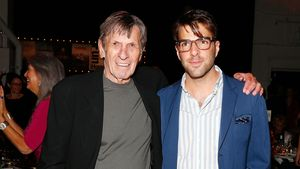 """Spock""-Nachfolger Quinto trauert um Leonard Nimoy"