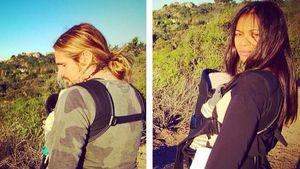 Zoe Saldana & Marco: Wandertag mit den Zwillingen