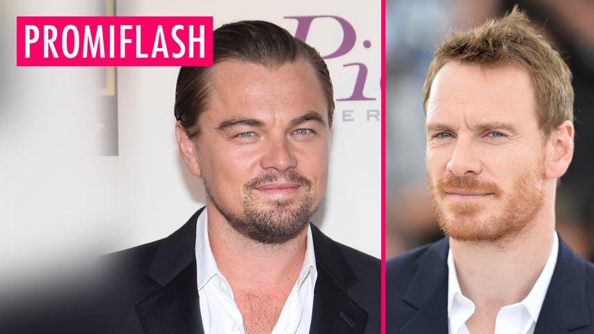 Leonardo DiCaprio und Michael Fassbender