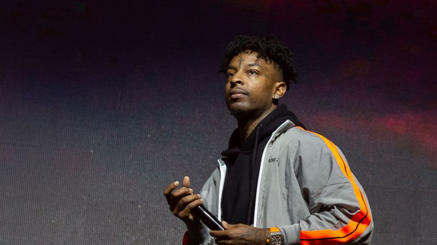 21 Savage bei einem Auftritt im Oktober 2019