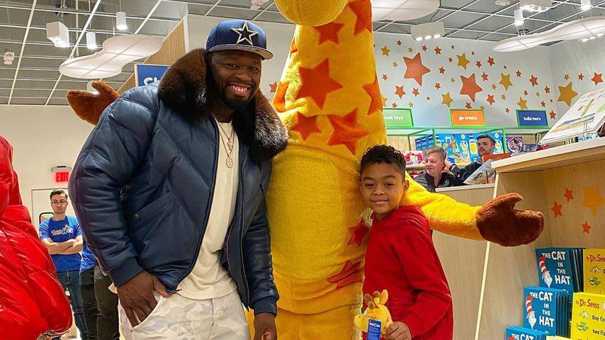 Kindertraum: 50 Cent ließ Spielzeugladen für Sohn schließen