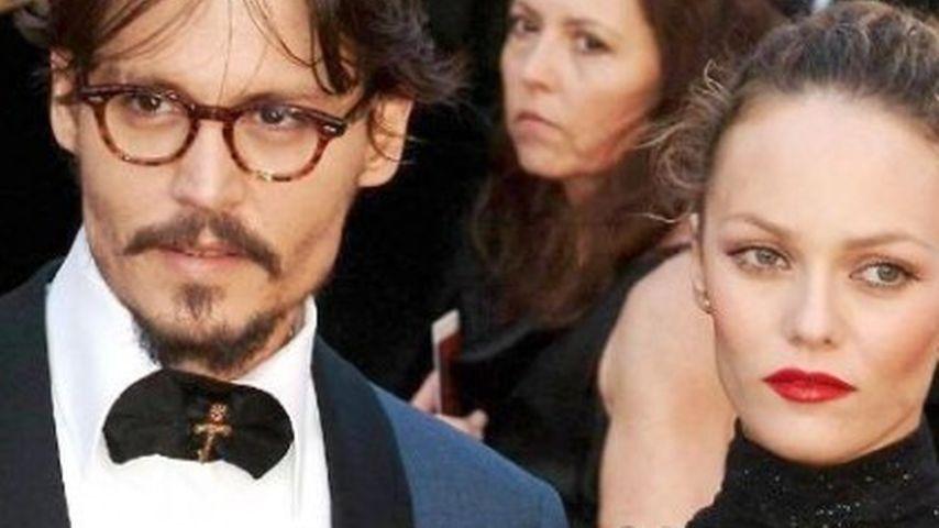 Vanessa Paradis & Johnny Depp stöhnen ins Mikro