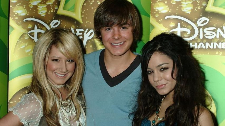 Ashley Tisdale, Zac Efron und Vanessa Hudgens