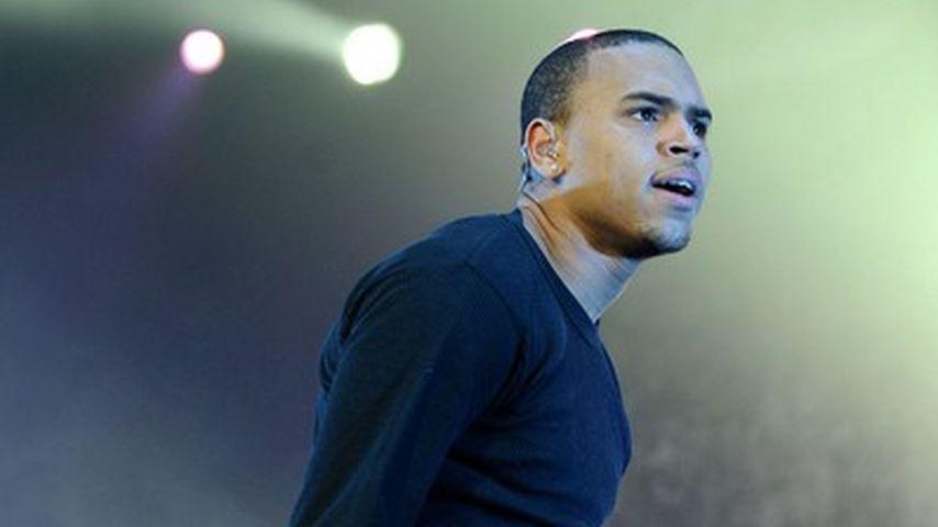 Chris Brown auf der Bühne