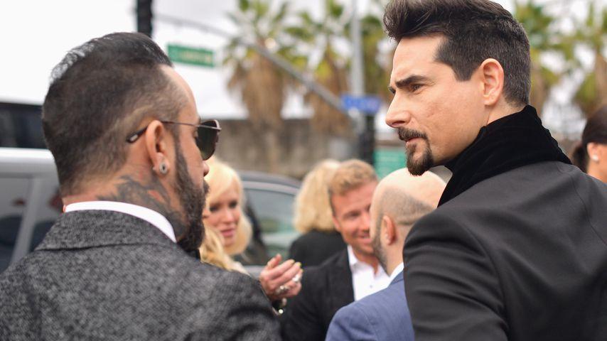 A.J. McLean und Kevin Richardson von den Backstreet Boys