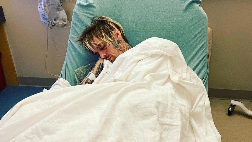 """""""Mama kümmert sich"""": Aaron Carter liegt im Krankenhaus"""
