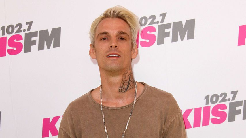 Aaron Carter in Los Angeles, 2017