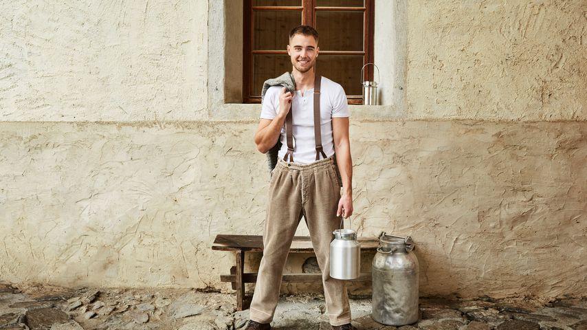 "Aaron Hundhausen, ""Die Alm""-Kandidat 2021"