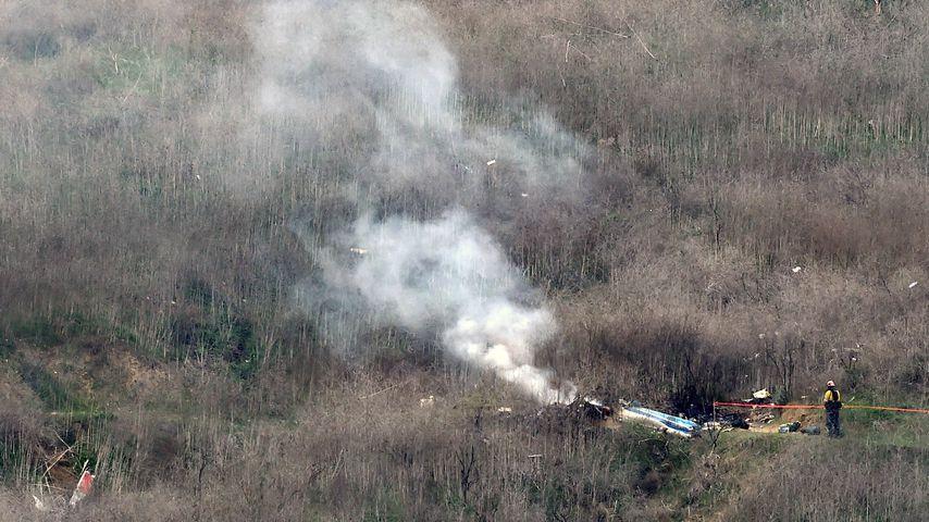 Abgestürzter Helikopter mit Kobe Bryant