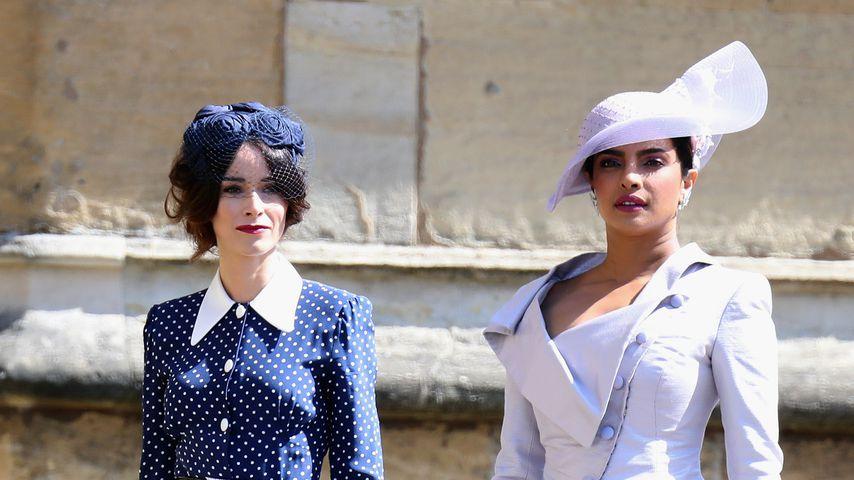 Abigail Spencer und Priyanka Chopra bei der Hochzeit von Harry und Meghan im Mai 2018
